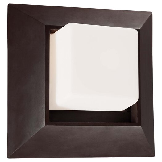 Great Outdoors by Minka Casona Square 1 Light Wall Mount