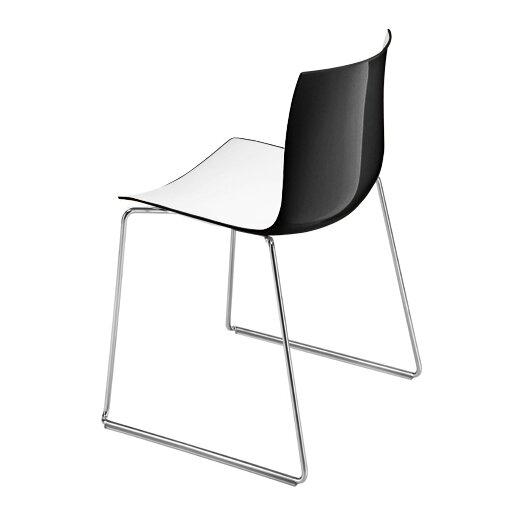 Catifa 46 Two Tone Sled Chair
