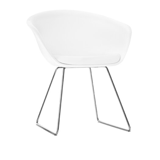 Arper Duna Chair with Sled Base
