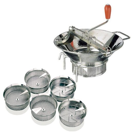 "Paderno World Cuisine 0.125"" Tin Sieve"