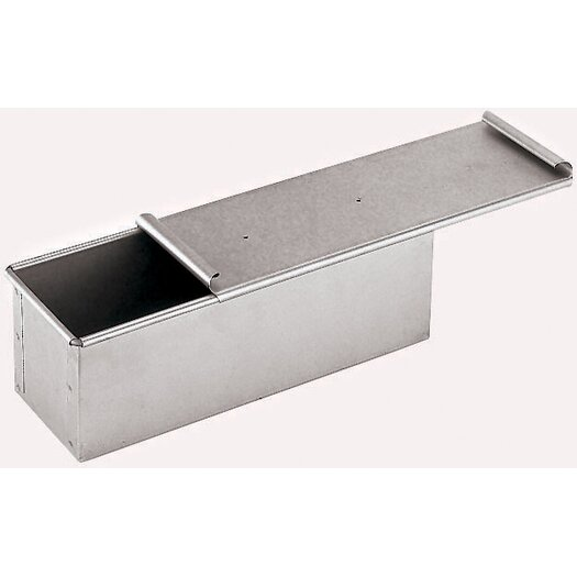 Paderno World Cuisine Aluminized Steel Bread Pan with Cover