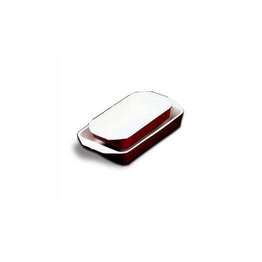 Paderno World Cuisine 8.875' x 5.125' Enamel Cast Iron Rectangular Dish