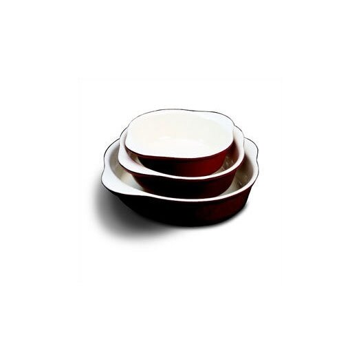 Paderno World Cuisine 8.25' Enamel Cast Iron Round Dish