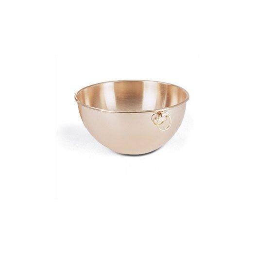 Paderno World Cuisine Egg White Solid Copper Bowl