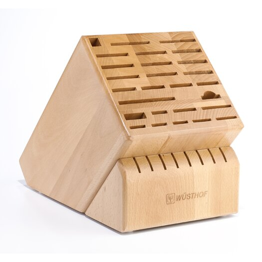 Wusthof 35-Slot Grand Beech Knife Block