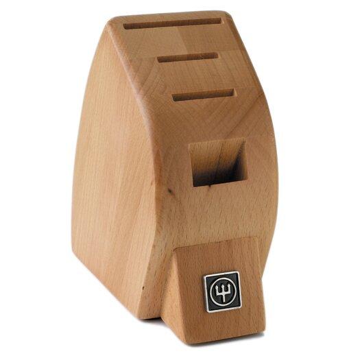 Wusthof 4-Slot Mobile Beech Knife Block