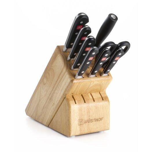 Wusthof Classic 9 Piece Knife Block Set