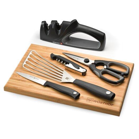 Wusthof Silverpoint II 6 Piece Kitchen Knives Essentials Set