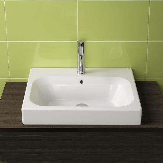Bissonnet Universal Flex Ceramic Bathroom Sink