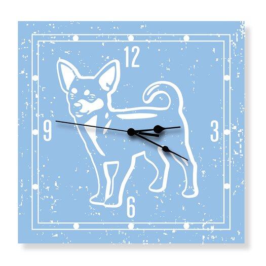 Naked Decor Chihuahua Clock