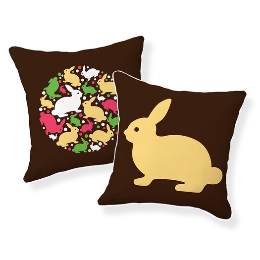Naked Decor Baby Bunny Pillow