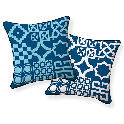 Naked Decor Turkish Tiles Pillow