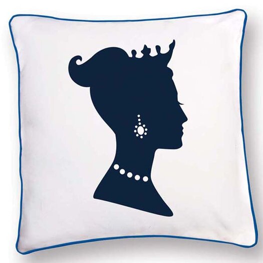 Naked Decor British Invasion Princess Reversible Pillow