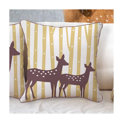 Naked Decor Spotted Deer Pillow