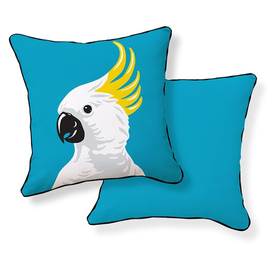 Naked Decor Cockatoo Pillow