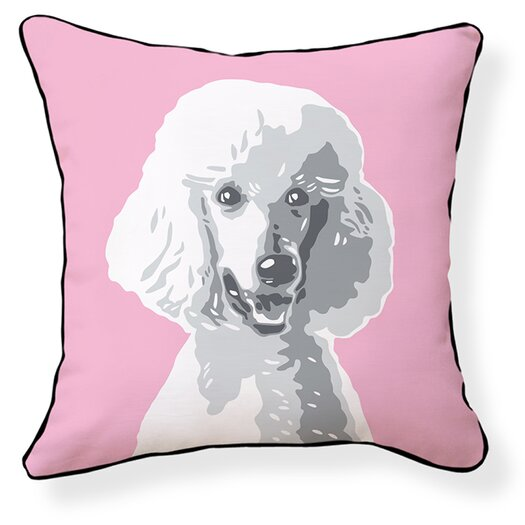 Naked Decor Poodle Pillow