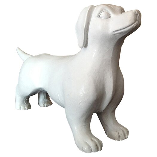 Naked Decor 2 Piece Modern Mini Dachshund Figurine Set