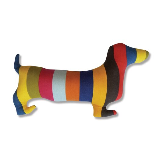 Naked Decor Doxie Silhouette Pillow