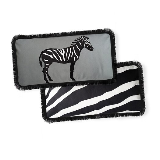 Naked Decor Beyond Africa Zebra Pillow