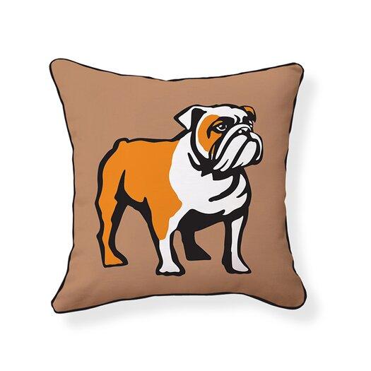 Naked Decor English Bulldog Pillow