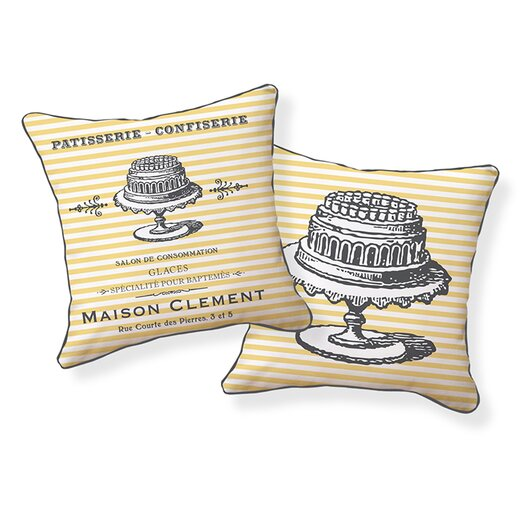 Naked Decor French Patisserie Pillow
