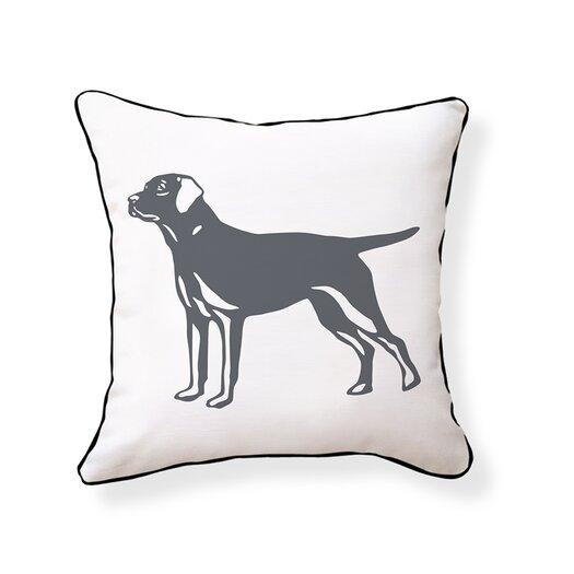 Naked Decor Labrador Retriever Pillow