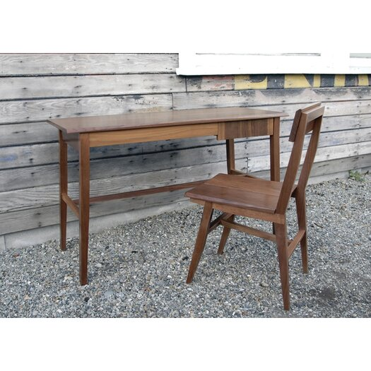Semigood Design Rift Writing Desk with Chair