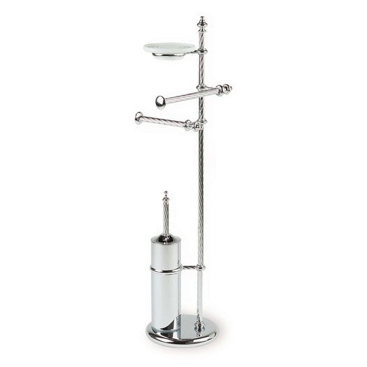 "Stilhaus by Nameeks Giunone 29.5"" Free Standing Classic Style Four Function Bathroom Butler"