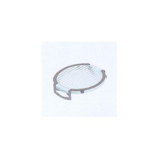 LBL Lighting Lens Single Clip Stripe Diffuser in Silver