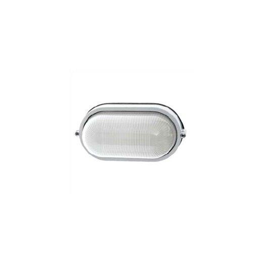 LBL Lighting Small Oval Outdoor Bulk Head Wall/Ceiling Mounted Lantern