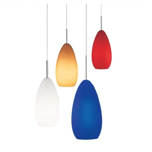 LBL Lighting Tear SII 1 Light Pendant