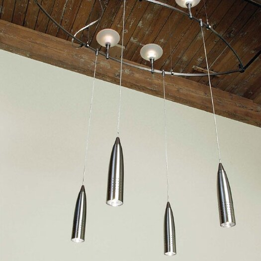 LBL Lighting Rocket 1 Light Mini Pendant