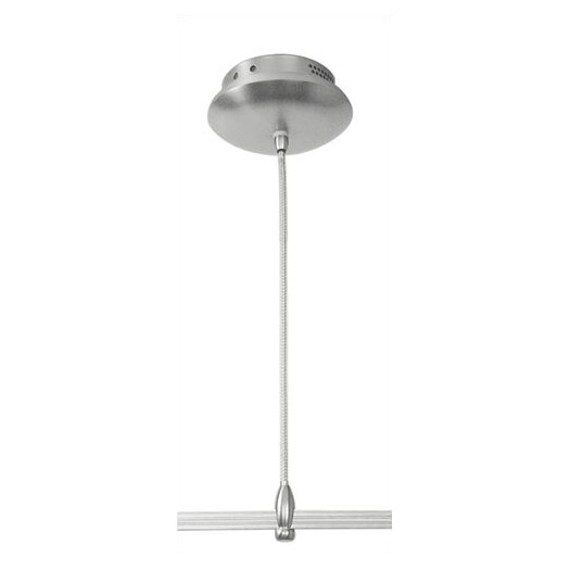 LBL Lighting Monorail 60W Surface Mounted Electronic Transformer in Satin Nickel