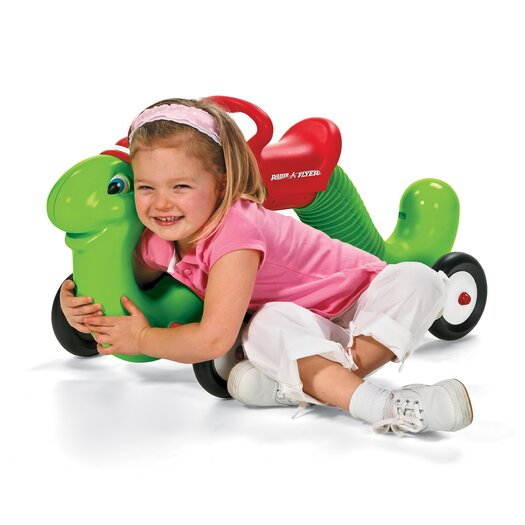 Radio Flyer The Inchworm Push Ride-On