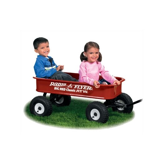 Radio Flyer Big Red Classic Wagon Ride-On