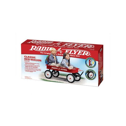 Radio Flyer Classic Wagon Ride-On