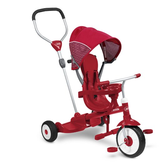Radio Flyer Ride & Stand Stroll 'N Tricycle