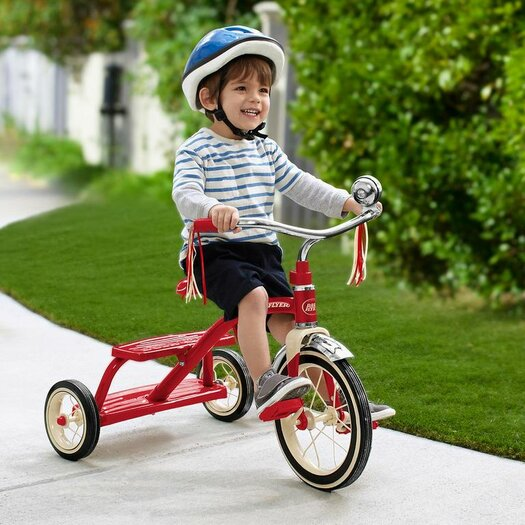 Radio Flyer Classic Style Dual Deck Tricycle