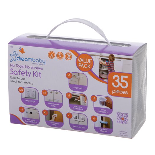Dreambaby No Tools Required Home Safety Kit