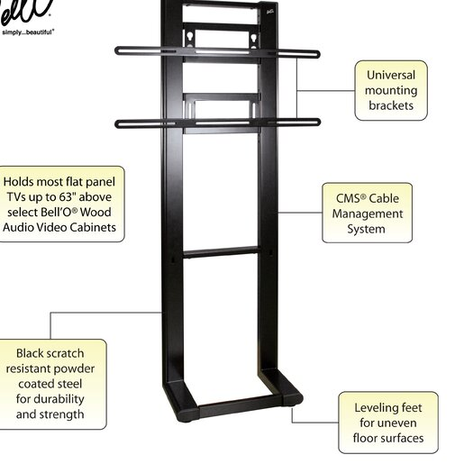 "Bello Fixed Universal Wall Mount for up to 63"" Plasma / LCD"