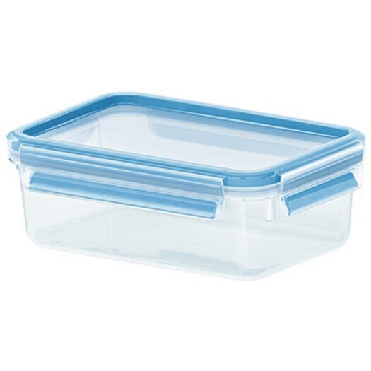 Frieling Emsa by Frieling 34 Oz. 3D Food Storage Shallow Rectangular Clip and Close Container
