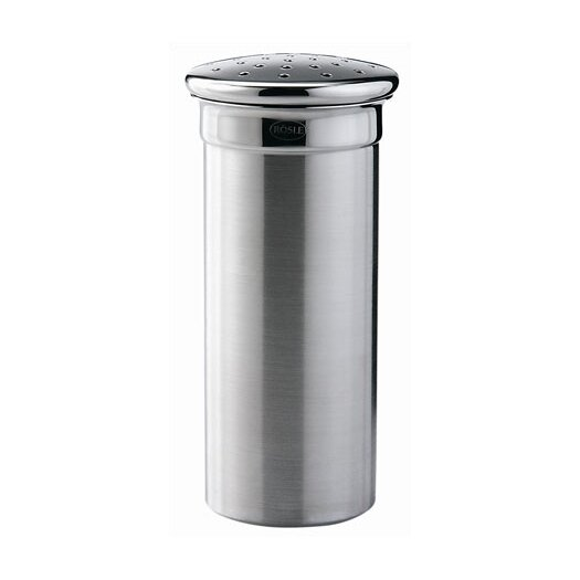 "Rosle Stainless Steel 4.7"" Coarse Shaker with 3.5 mm/0.2 in. Perforations"