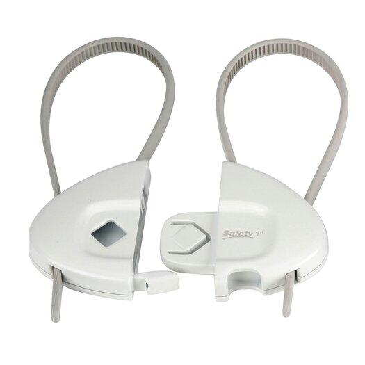 Safety 1st Dorel Juvenile Push 'N Snap Cabinet Lock
