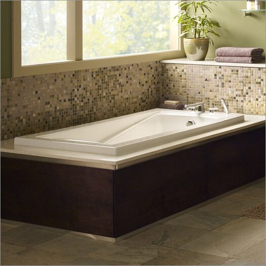"American Standard Green Tea 60"" x 36"" Bathtub"