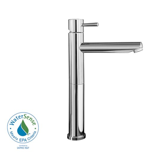 American Standard Serin Single Hole Bathroom Vessel Faucet with Single Handle