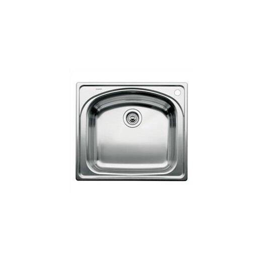 "Blanco Wave 25"" x 22"" Single Bowl Drop-In Kitchen Sink"
