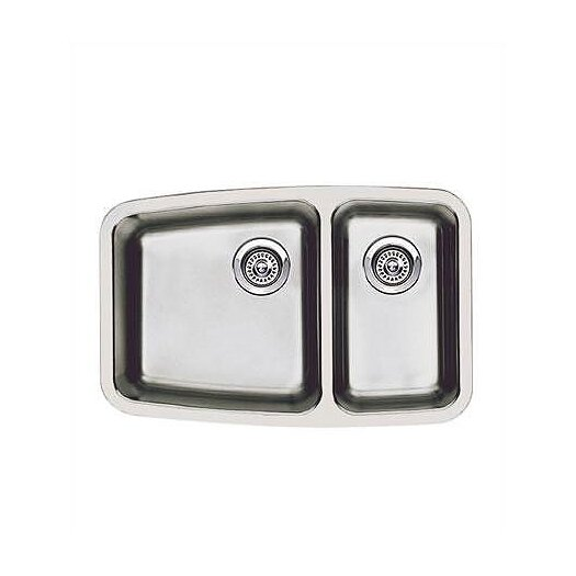 "Blanco Performa 27.13"" x 17.5"" Bowl Kitchen Sink"