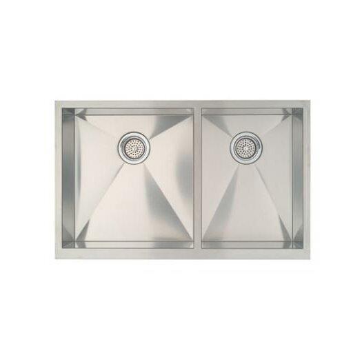 """Blanco Precision 33"""" x 20.5"""" Bowl Kitchen Sink with Apron"""