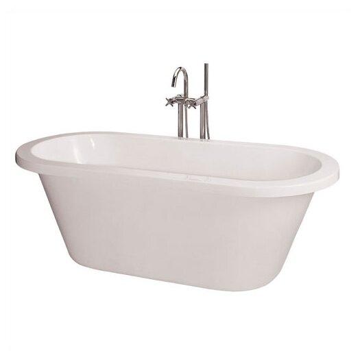 "Schon 71"" x 31.5"" Freestanding Acrylic Bathtub"