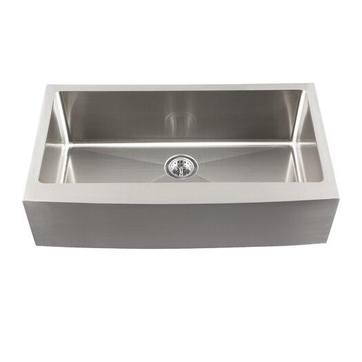 "Schon 22"" Single Bowl Farmhouse Kitchen Sink"